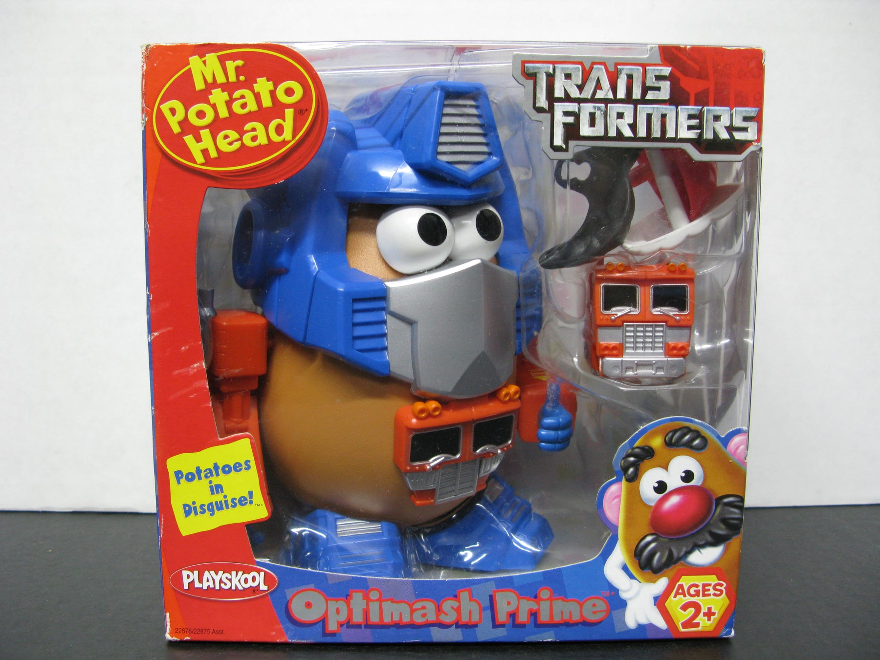 Mr.Potato Head Trans Formers Playskool