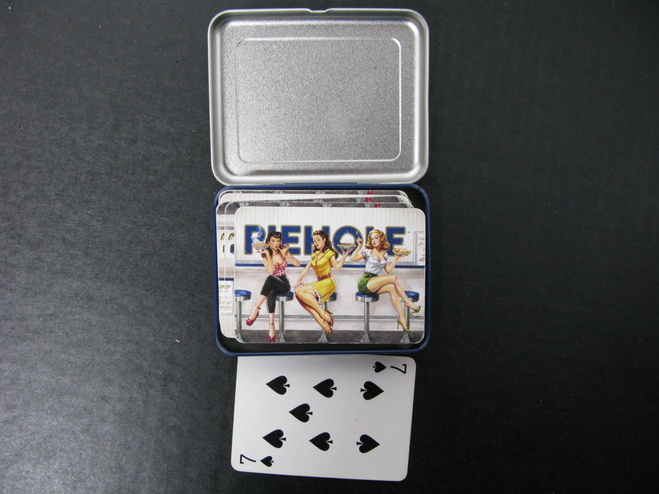 Vintage Piehole Playing Cards