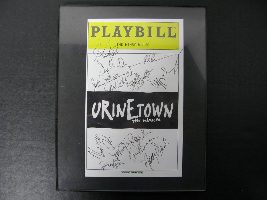 Playbill Signed The Henry Miller Urine Town the Musical