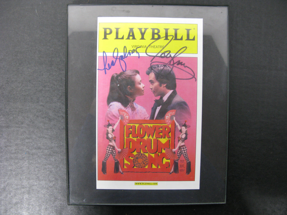 Playbill Virginia Theatre Flower Drum Song