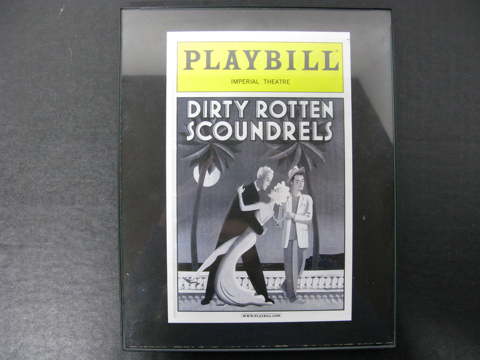 Playbill Imperial Theatre Dirty Rotten Scoundrels