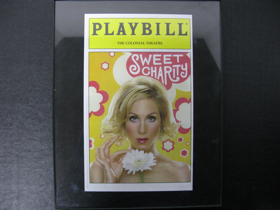 Playbill the Colonial Theatre Sweet Charity