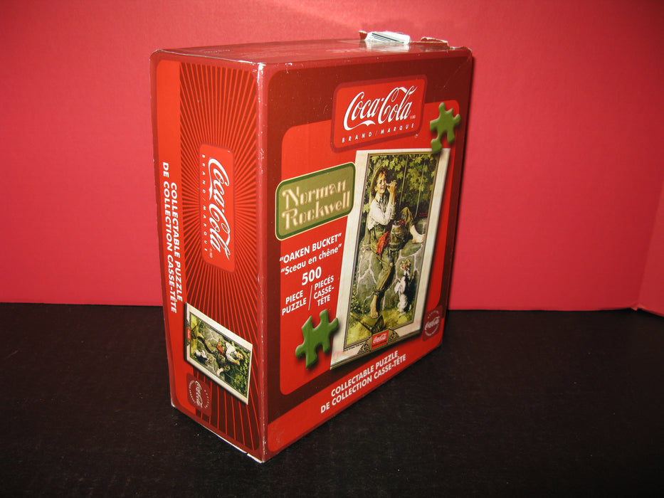 Coca Cola Brand Norman Rockwell Collectible Puzzle