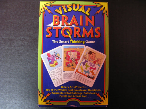 Visual Brain Storms The Smart Thinking Game