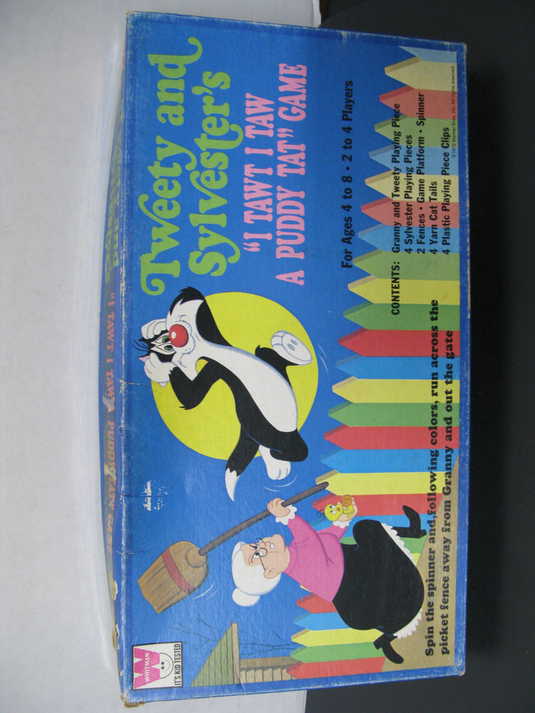 "Tweety and Sylvester's ""I Tawt I Taw A Puddy Tat"" Game"