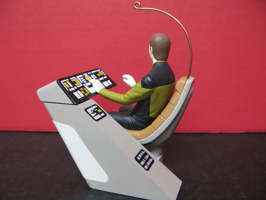 Data from Star Trek Ornament