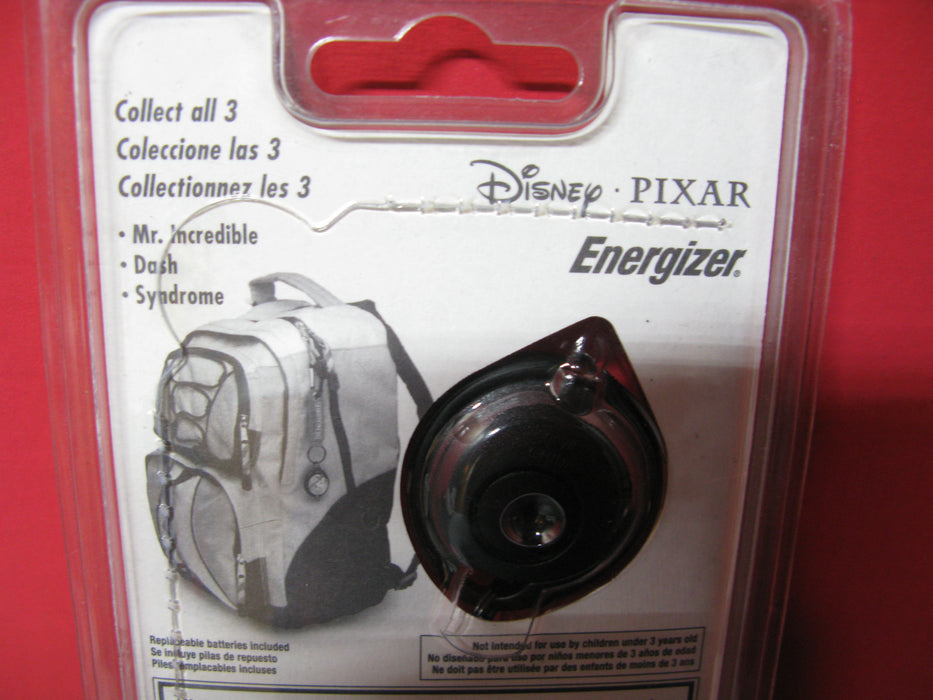 Disney Pixar The Incredibles Energizer Collectible Backpack Clip