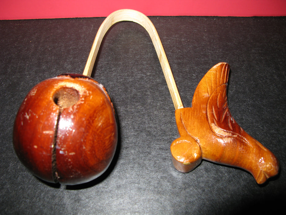 Wooden Bird Clacker
