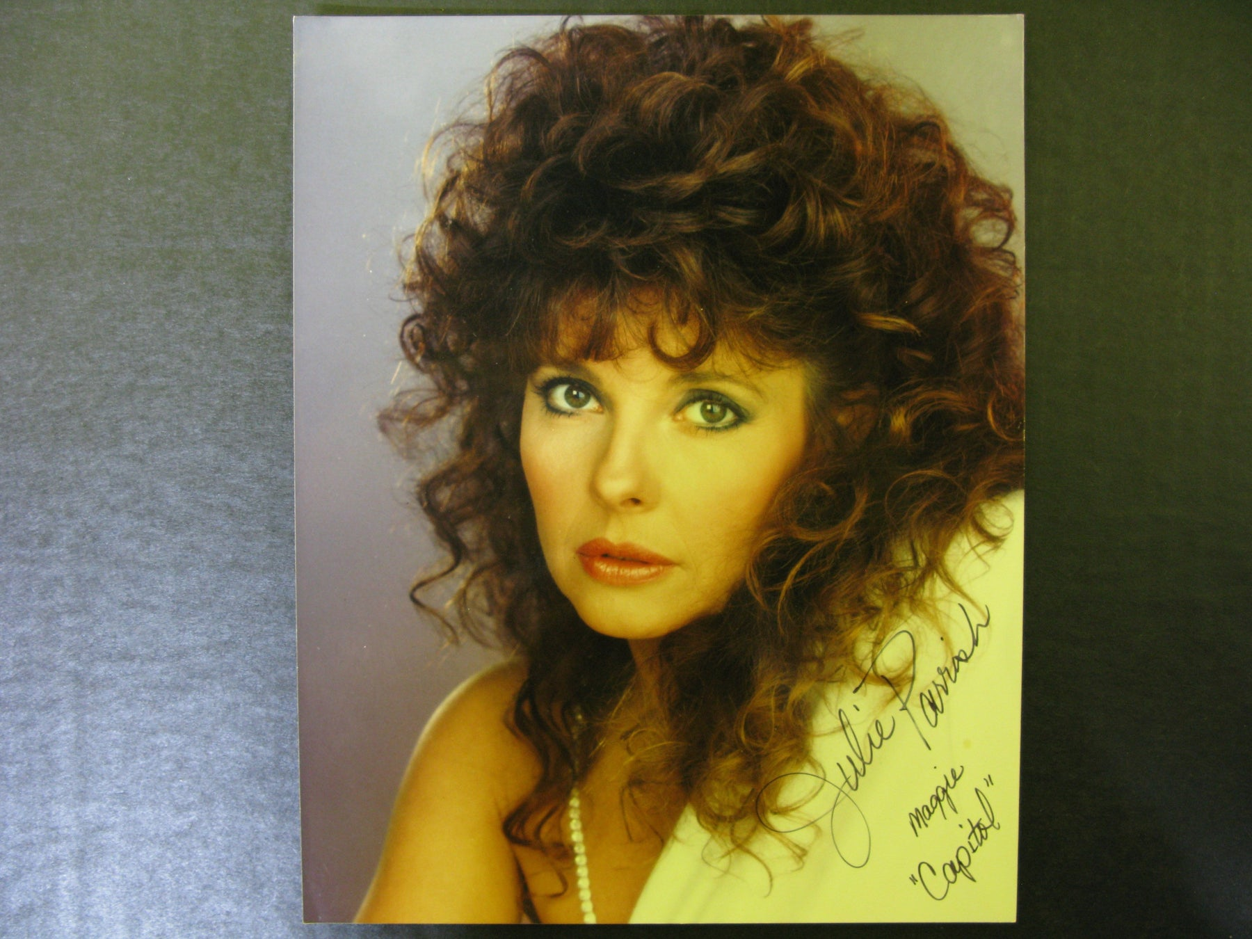 Star Trek Julie Parrish Signed Autographed Photo