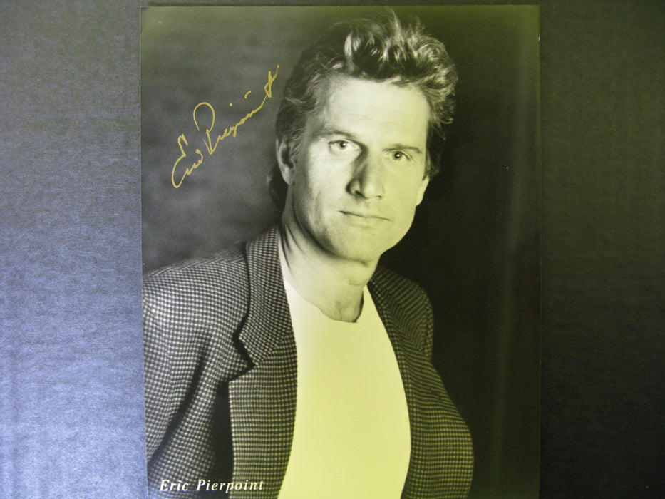 Star Trek Eric Pierpoint Signed Autographed Photo