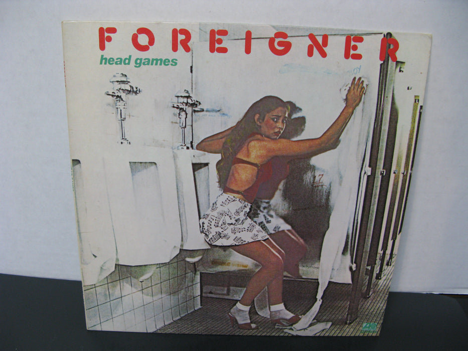 Foreigner Head Games Vinyl Record