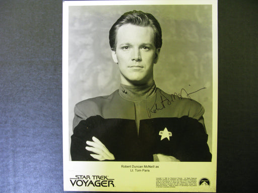 Star Trek Voyager Signed Autographed Photo by Robert Duncan McNeill