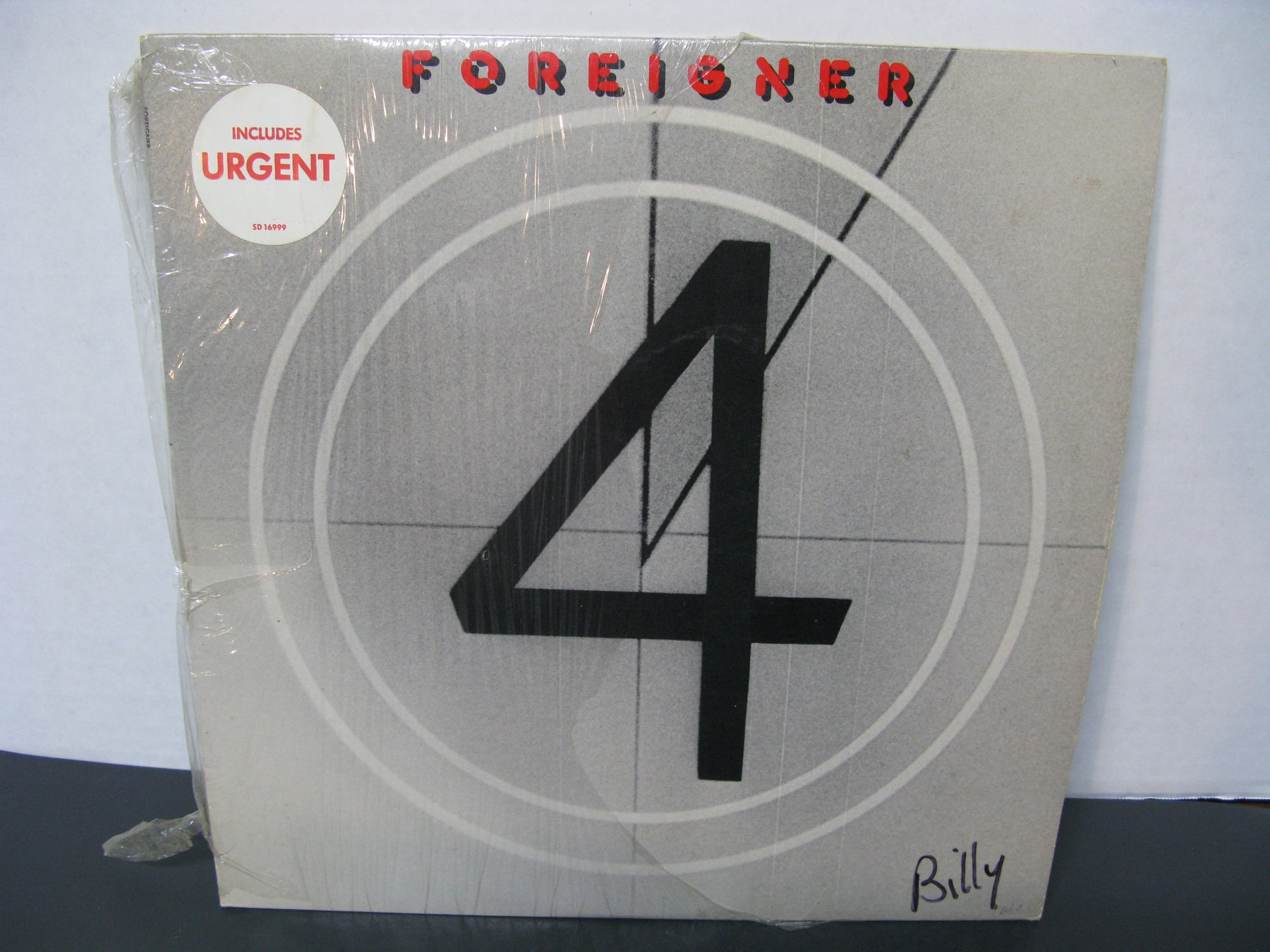 Foreigner 4 Vinyl Record