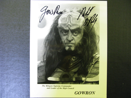 Star Trek Robert O Reilly-Gowron Signed Autograph Photo