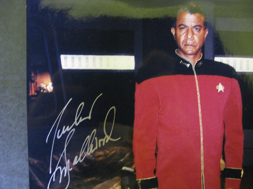 Star Trek Tucker Smallwood Signed Autograph Photo