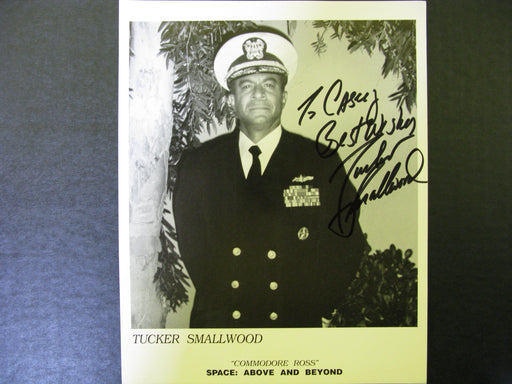 Star Trek Signed Autographed Photo by Tucker Smallwood
