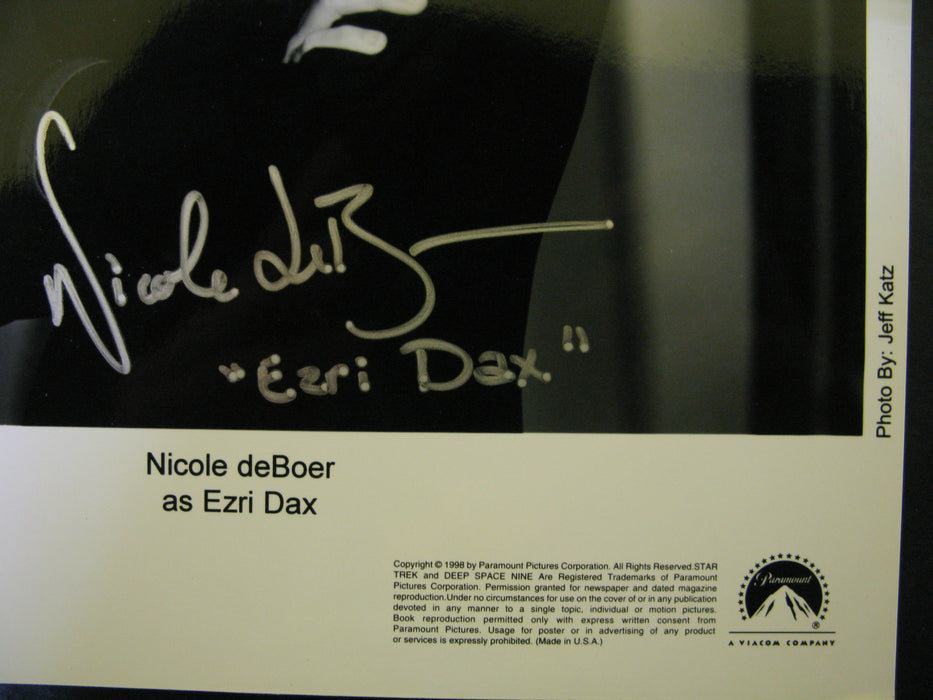 Star Trek Deep Space Nine Nicole Deboer Signed Autographed Photo