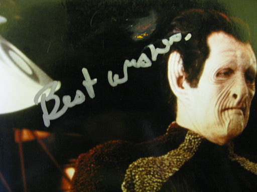 Star Trek Autograph Photo Signed By Tiny Ron as Maihar Du