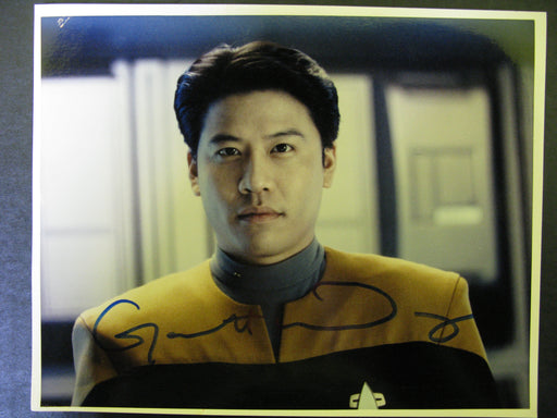 Star Trek Voyager Garrett Wang Signed Autograph Photo