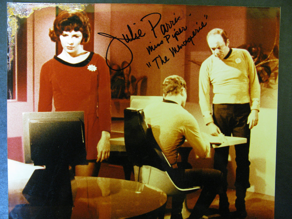Star Trek Julie Parrish as Piper Signed Autograph Photo