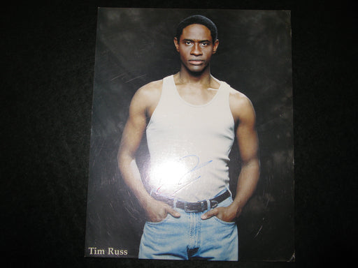 "Star Trek Tim Russ ""Tuvok"" Signed Autographed Photo"