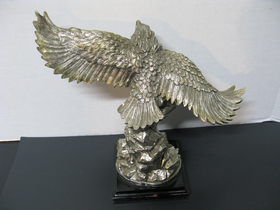 Silver Eagle Dancer Native Indian Sculpture W. Anina Collection