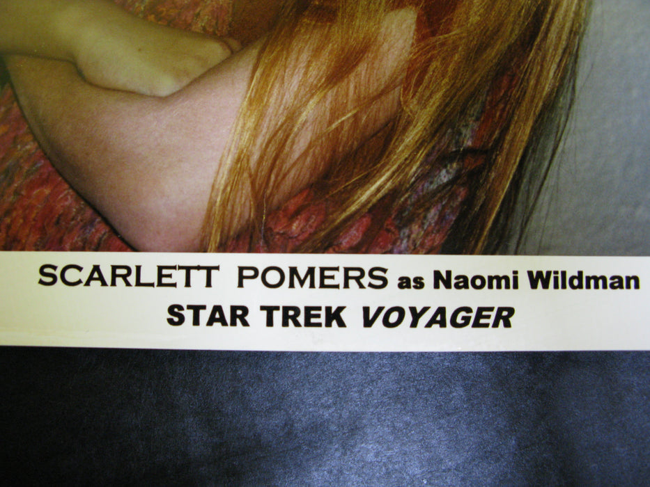 Star Trek Voyager Scarlett Pomers Signed Autograph Photo