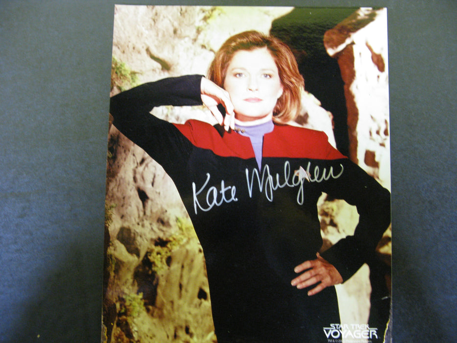 Star Trek Kate Mulgrew Signed Autographed Photo
