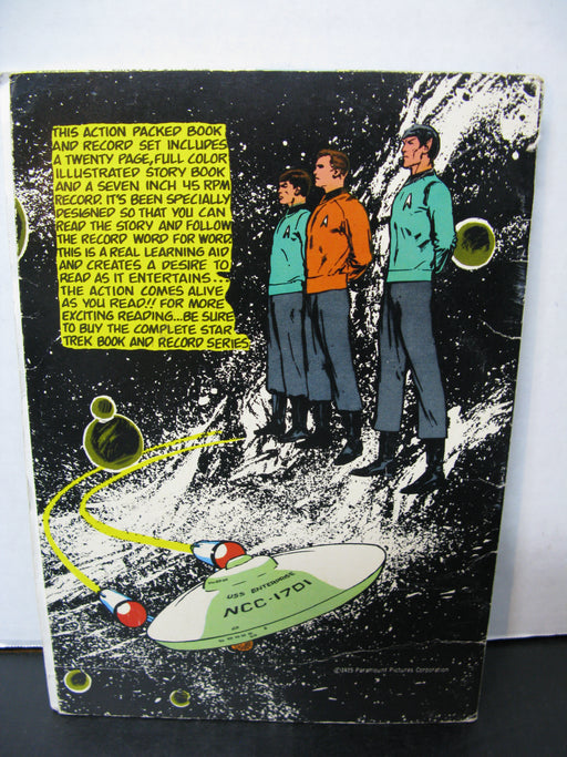 Star Trek Passage To Moauv Book with Record