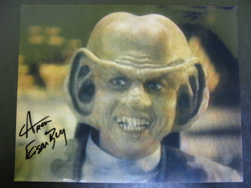 Star Trek Aron Eisenberg Signed Autograph Photo