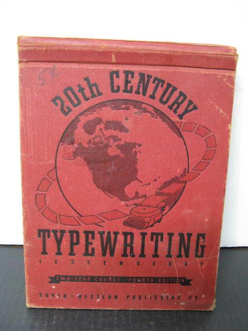 20th Century Typewriting Fourth Edition Book