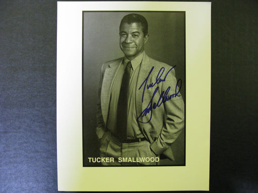 Star Trek Tucker Smallwood Signed Autographed Photo