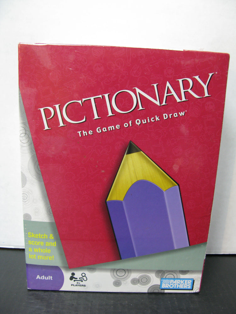 Pictionary The Game of Quick Draw