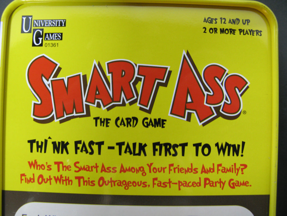 Smart Ass-The Ultimate Trivia Card Game