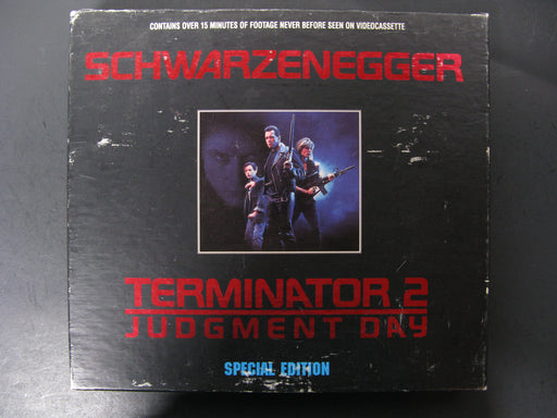Schwarzenegger Terminator 2 Judgement Day Special Edition VHS Tapes