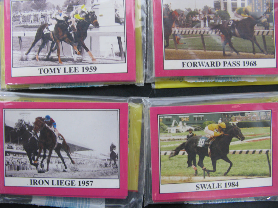 Kentucky Derby Trading Cards Collectors Series