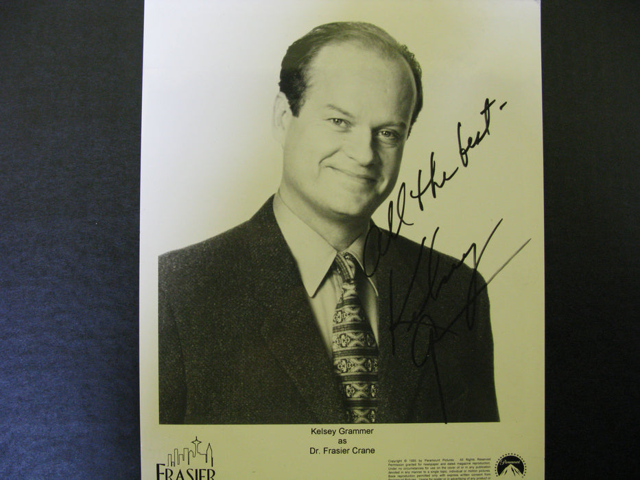 Kelsey Grammer Signed Autographed Photo