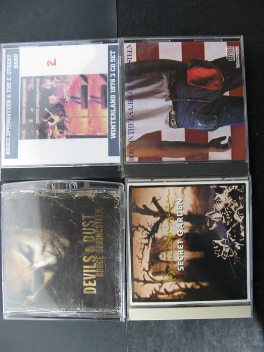 Huge Lot of Bruce Springsteen CD's