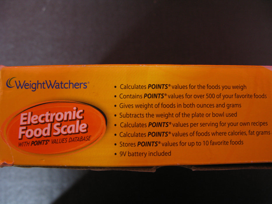Weight Watchers Electronic Food Scale