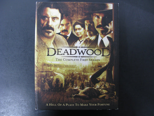 DeadWood-Season One, Two, and Three