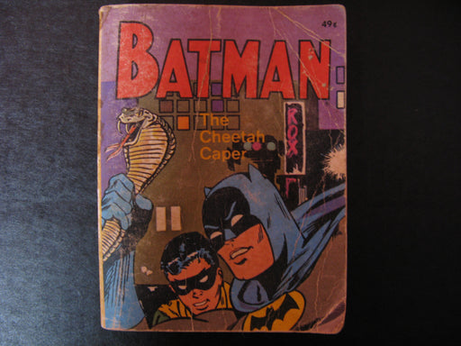 Rare Vintage Batman The Cheetah Caper Book