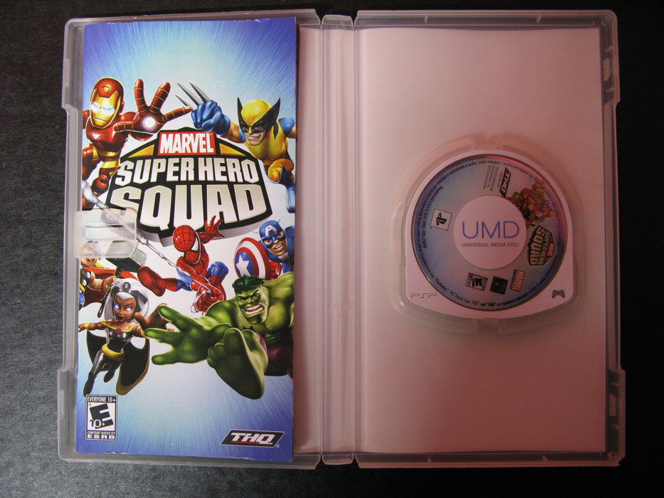 Marvel Super Hero Squad PSP Video Game
