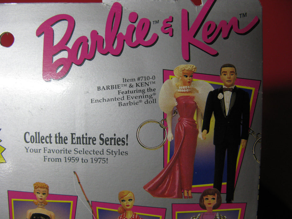 Barbie & Ken Keychains Featuring the Enchanted Evening