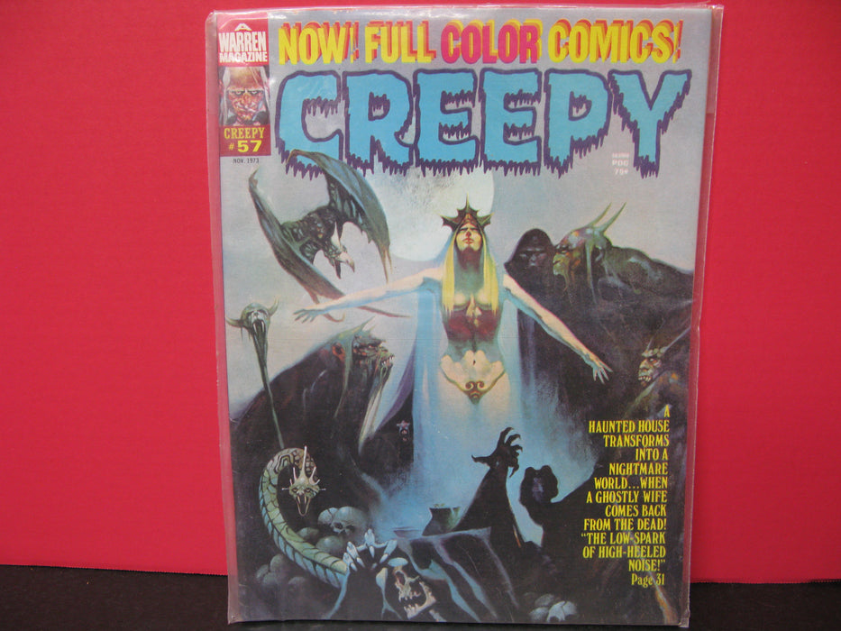 Bundle of Seven EERIE, CREEPY ,Etc. , Comic Books