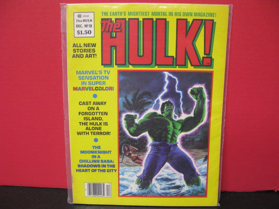 Bundle of Five 'The Hulk!' Comics