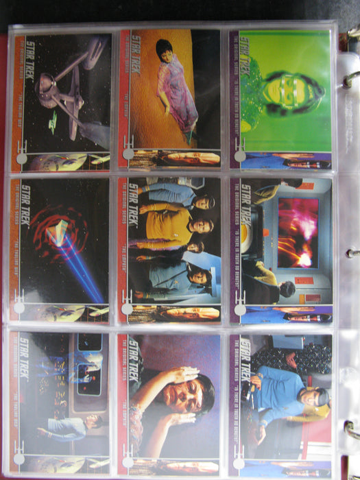 Star Trek Card Collector Album (H)