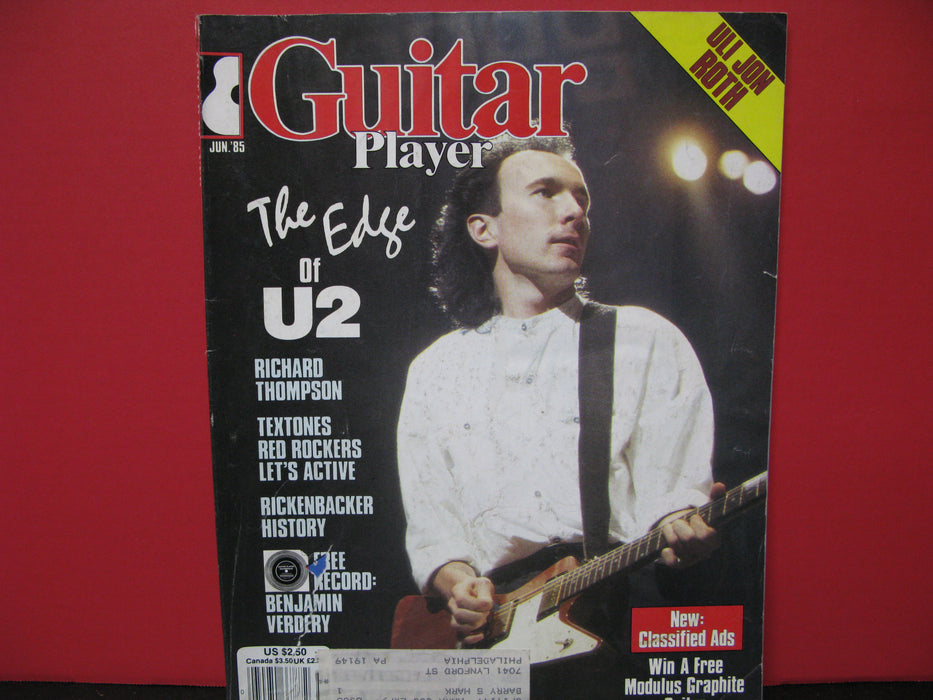 16 Guitar Player Magazines