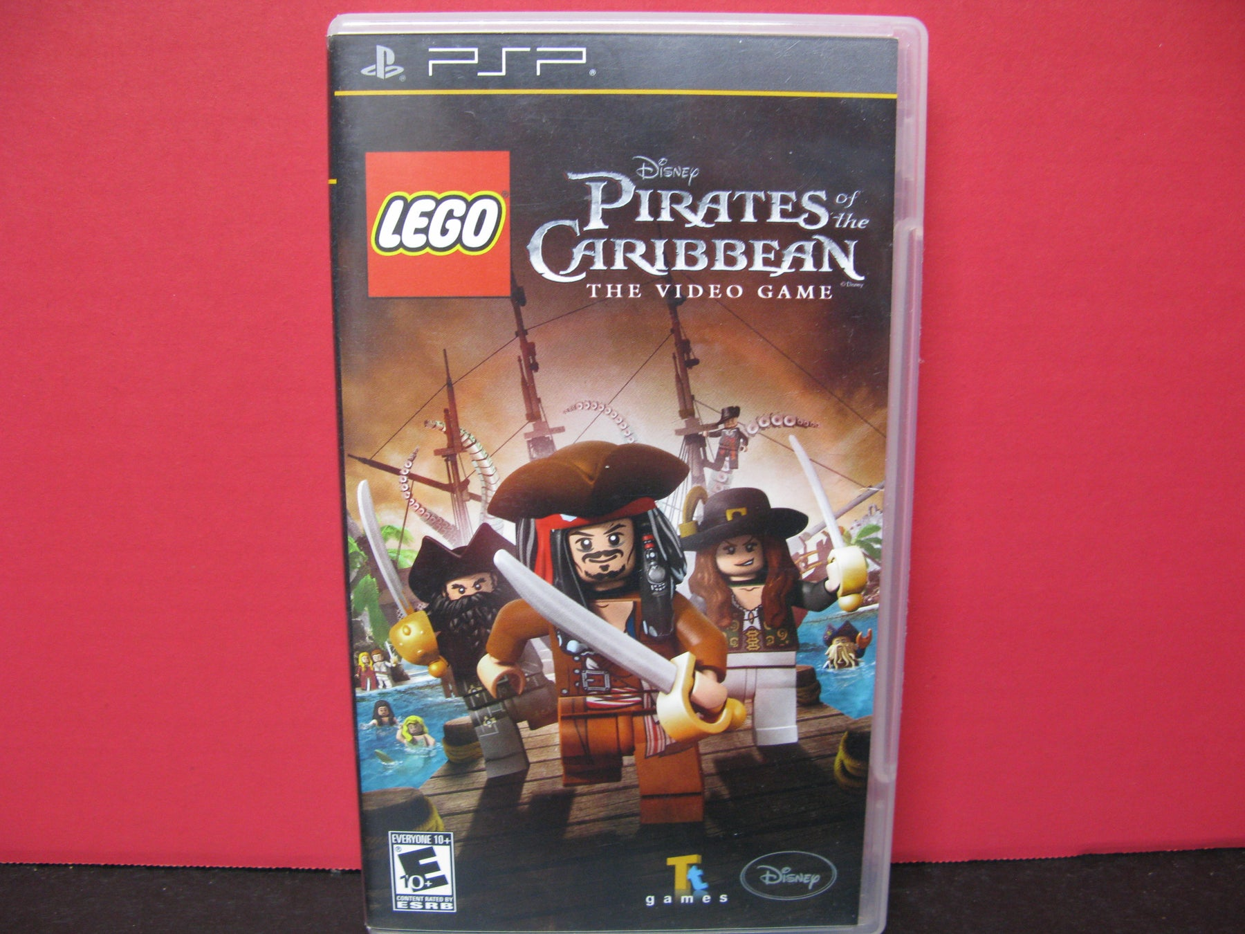 PSP Lego Disney Pirates of the Caribbean The Video Game