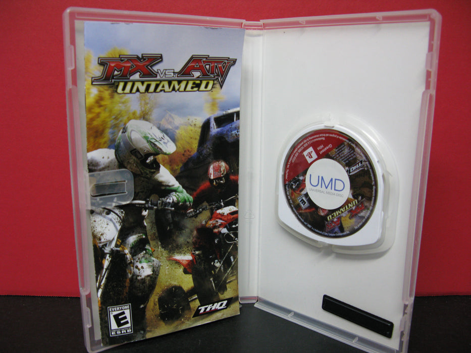 PSP MX vs. ATV Untamed Video Game