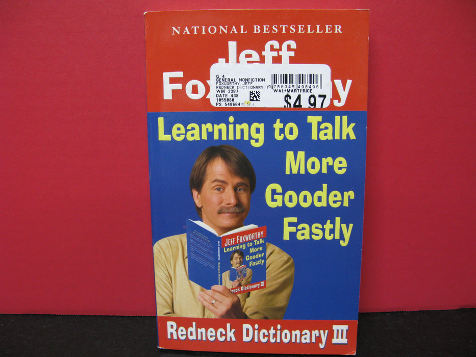 Learning to Talk More Gooder Fastly Redneck Dictionary III Book